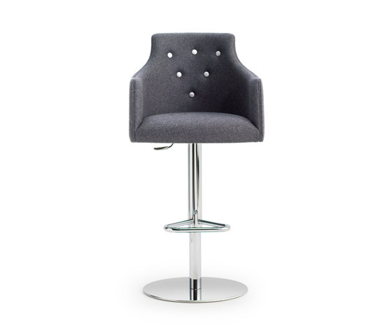 ALBERT ONE | SGSC ARM METAL DELUXE by Accento | Bar stools