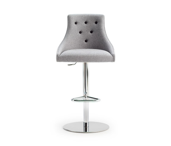 ALBERT ONE | SGSC METAL DELUXE by Accento | Bar stools