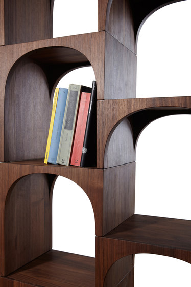 Nepi modular shelving system by Internoitaliano | Office shelving systems