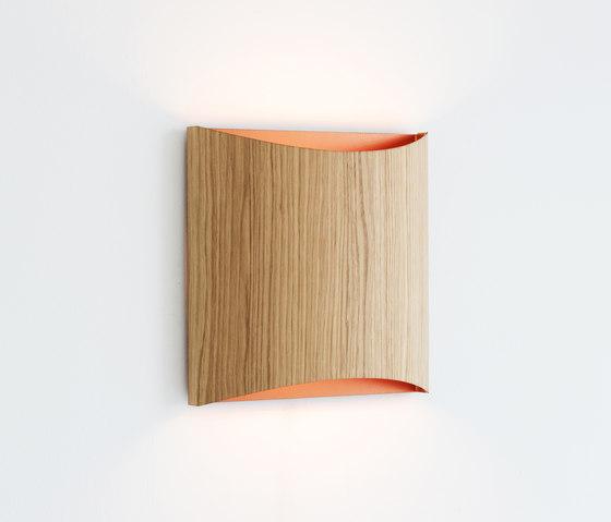 Sophie wall oak copper by lasfera | Wall lights
