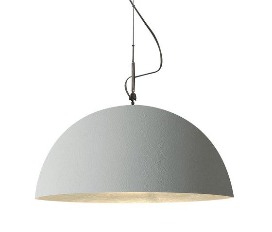Mezza Luna cemento pendant di IN-ES.ARTDESIGN   Illuminazione generale
