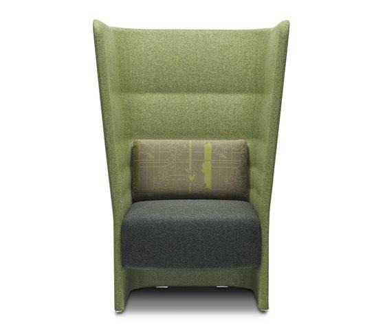Cell 128 fauteuil avec dossier haut de sitland | Fauteuils