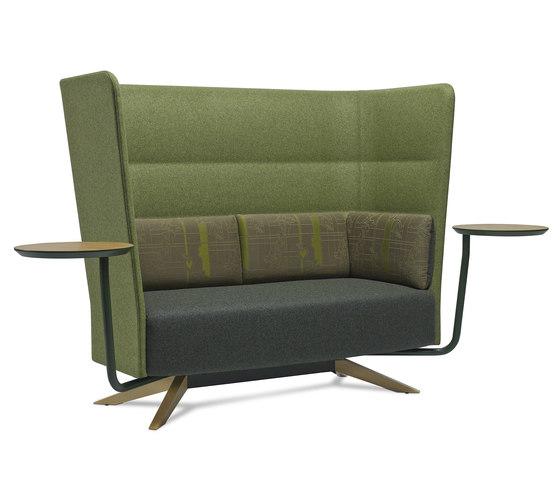 Cell 128 4-Speichen-Sofa mit hoher Rückenlehne von sitland | Sofas