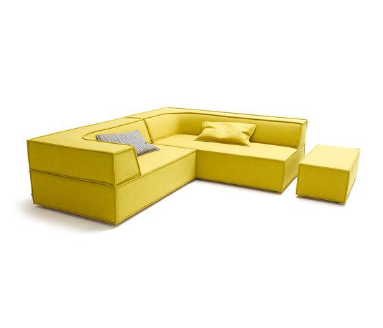 Trio Corner sofa di COR | Divani