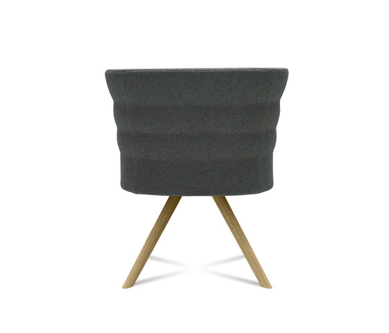 Cell 75 sillón pequeño reuniones tapizado con brazos de sitland | Sillas