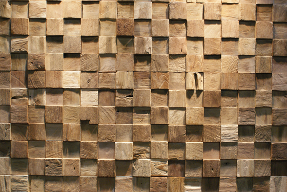 SQUARE de Teak Your Wall | Planchas
