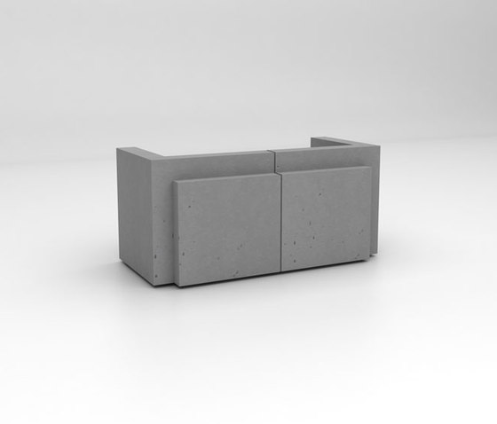 Volume Reception Desk Configuration 1 by Isomi   Counters