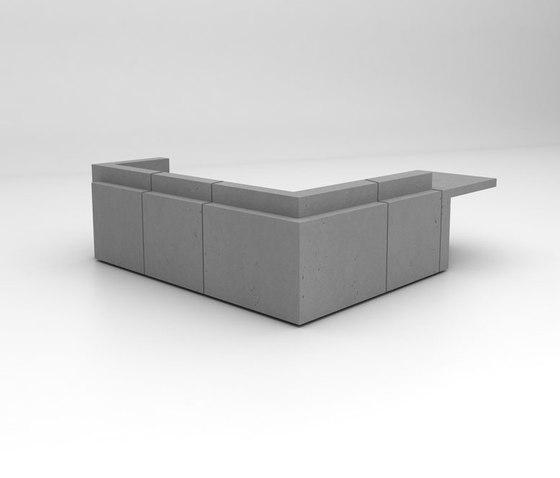 Volume Reception Desk Configuration 9 de Isomi | Banques d'accueil