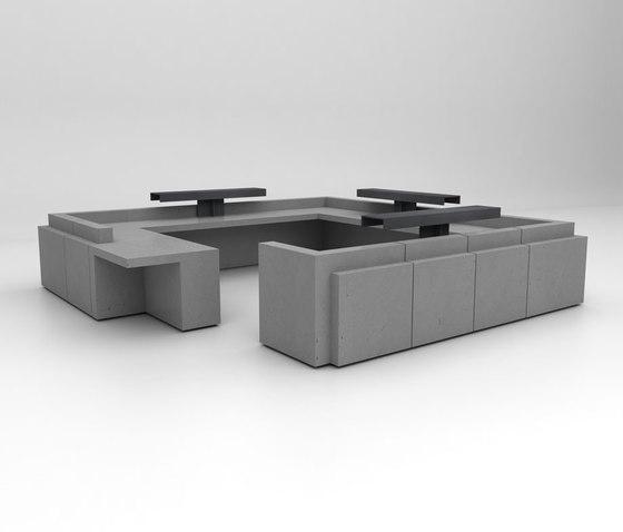 Volume Reception Desk Configuration 10 von Isomi | Theken