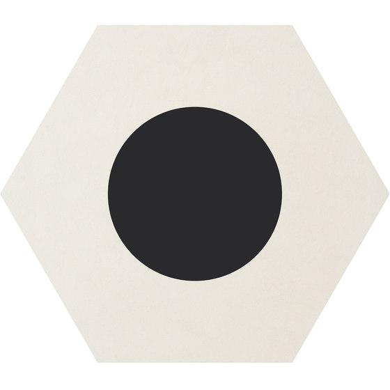 Cørebasics Dot-Positive White | CB60DPW de Ornamenta | Carrelage céramique