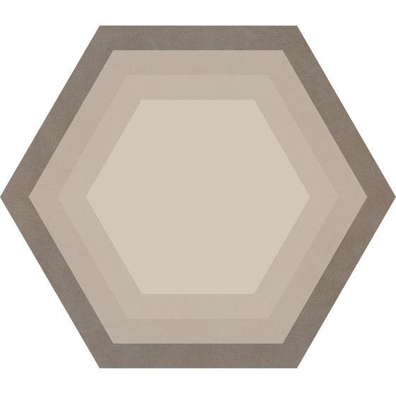 Cørebasics Honeycomb Ashgrey | CB60HA von Ornamenta | Keramik Fliesen
