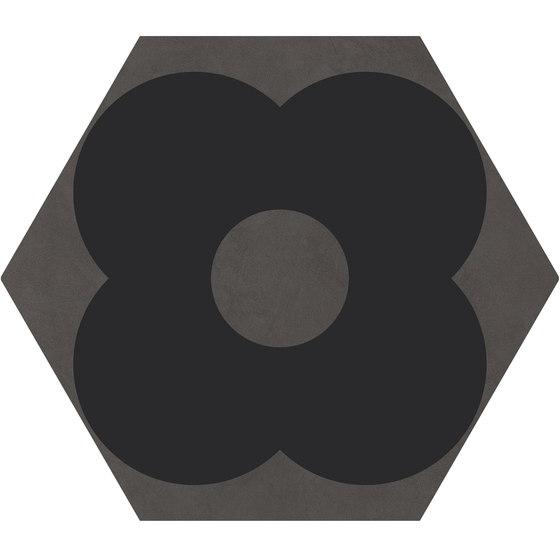 Cørebasics Petals Grey | CB60PG von Ornamenta | Keramik Fliesen