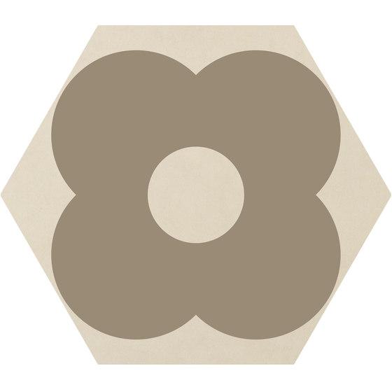 Cørebasics Petals Ivory | CB60PI di Ornamenta | Piastrelle