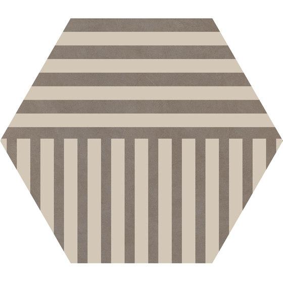 Cørebasics Stripes Ashgrey | CB60SA by Ornamenta | Ceramic tiles