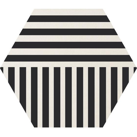Cørebasics Stripes White | CB60SW by Ornamenta | Ceramic tiles