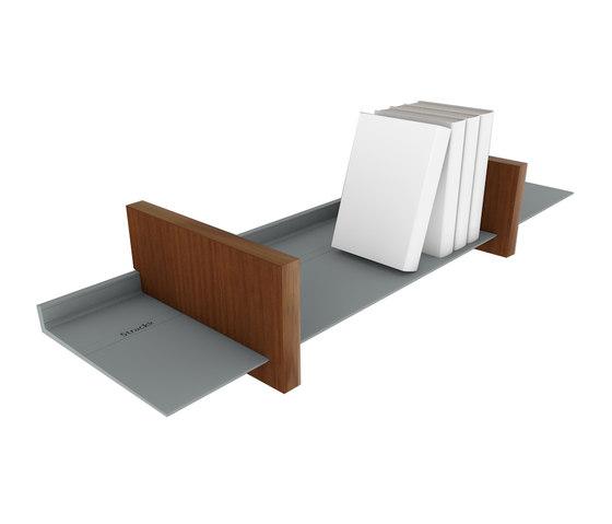 Shelf bookend closed by Strackk | Shelving
