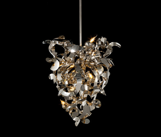 Kelp chandelier conical de Brand van Egmond | Lámparas de techo