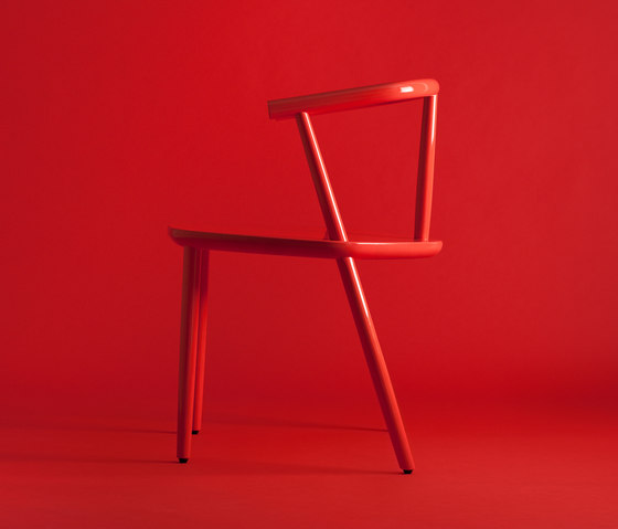 Five Chair Red de Meetee | Sillas para restaurantes