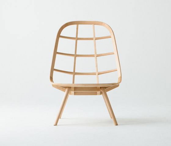 Nadia Lounge Chair Natural de Meetee | Sillones