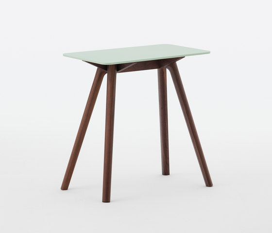 Nadia Side Table Rectangular Lime Green de Meetee | Mesas auxiliares