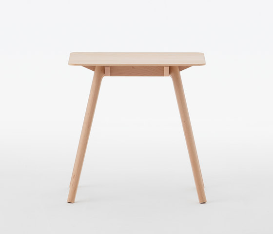 Nadia Side Table Rectangular Natural di Meetee | Tavolini alti