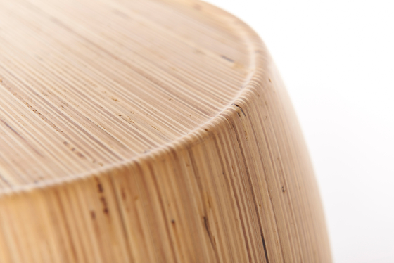 Motley Drum 40 Plywood Birch - Natural by Wildspirit | Side tables