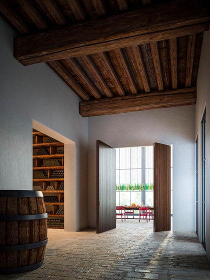 Brezza | Porte Pivotante Verticale Filo 10 de Linvisibile | Portes intérieures