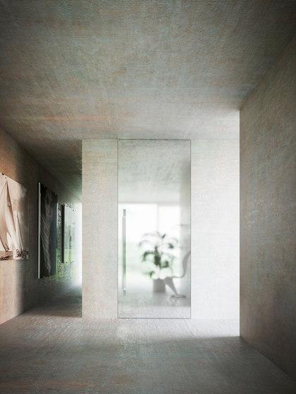 Brezza | a bilico verticale di Linvisibile | Porte interni