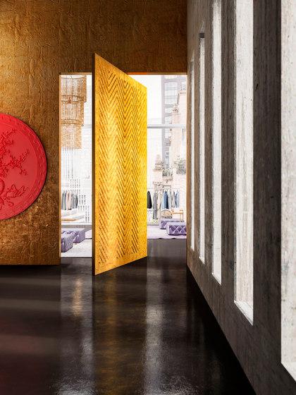 Brezza | porte pivotante de Linvisibile | Portes intérieures