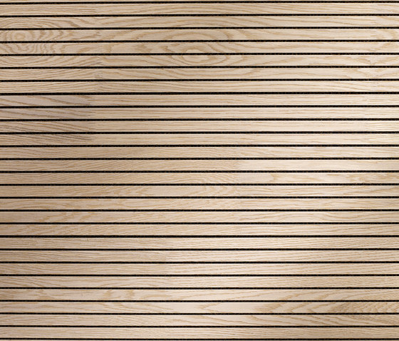 ACOUSTIC Oak white finger-jointed by Admonter Holzindustrie AG | Wall panels