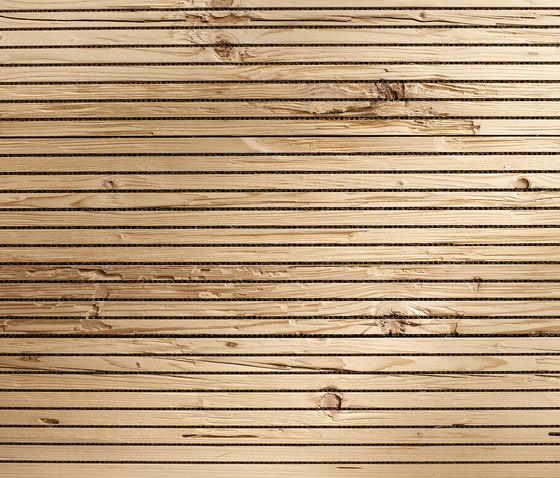 ACOUSTIC Retro haché H2 de Admonter Holzindustrie AG | Panneaux muraux