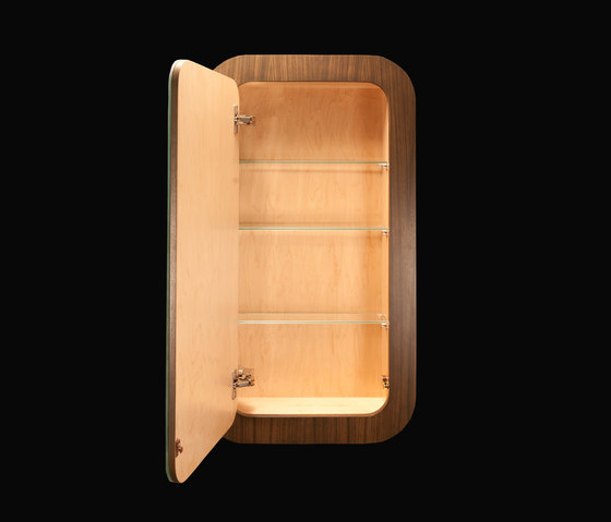 Giulia Medicine Cabinet GA010 de Lacava | Meubles muraux salle de bain