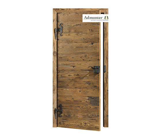 DOORs Reclaimed wood hacked H3 by Admonter Holzindustrie AG | Internal doors