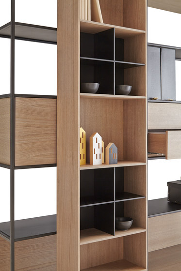 Literatura Open by Punt Mobles | Shelving
