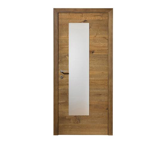 DOORs Oak Lapis glass section by Admonter Holzindustrie AG | Internal doors