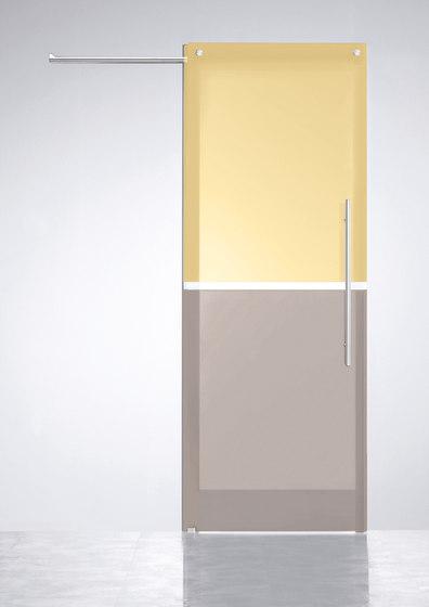 Sliding Door⎟Horizontal Bi-color by Casali   Internal doors