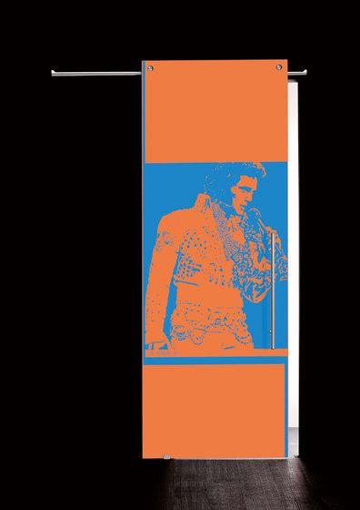 Sliding Door⎟Elvis Presley, half body by Casali | Internal doors