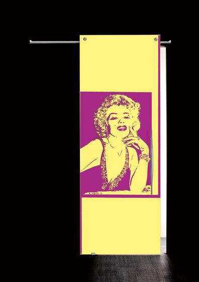 Sliding Door⎟Marilyn Monroe, half body by Casali   Internal doors