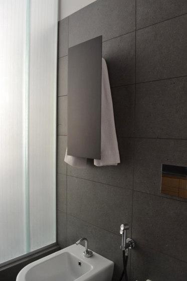 Geometrici towel warmer slim by mg12 | Radiators