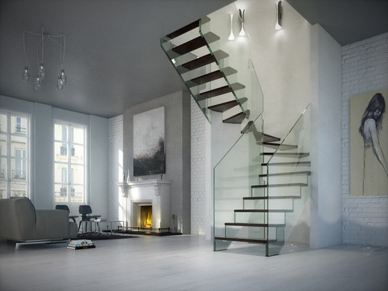 Londra Wood by Siller Treppen | Staircase systems