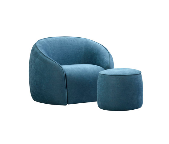 Baloo​ armchair and ottoman von Alivar | Loungesessel
