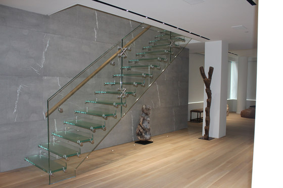 Mistral New York by Siller Treppen | Staircase systems
