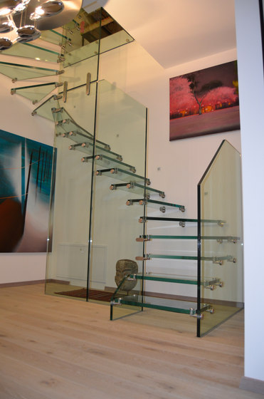Mistral All Glass Vienna by Siller Treppen | Staircase systems