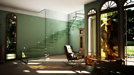 mistral All Glass Zug by Siller Treppen | Staircase systems