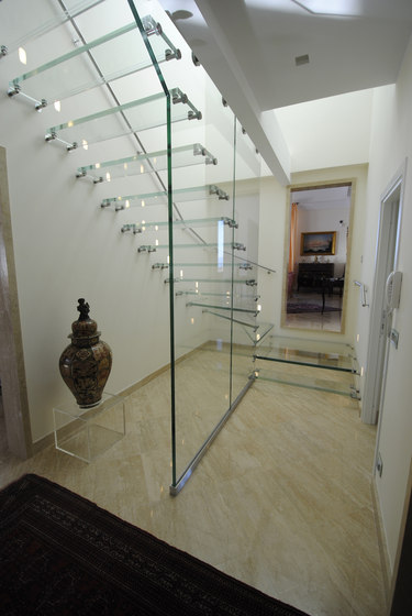 Mistral All Glass Sky by Siller Treppen | Staircase systems