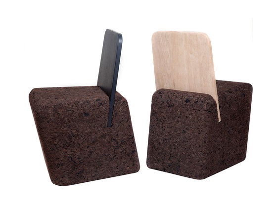 Cut Chair de Blackcork   Sillas