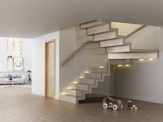 Faltwerk glass by Siller Treppen | Staircase systems