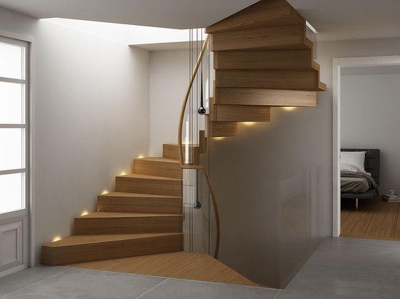 Faltwerk modern by Siller Treppen | Wood stairs
