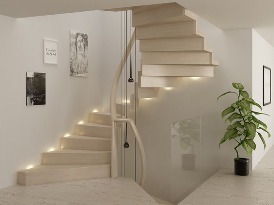 faltwerk modern by siller treppen product. Black Bedroom Furniture Sets. Home Design Ideas