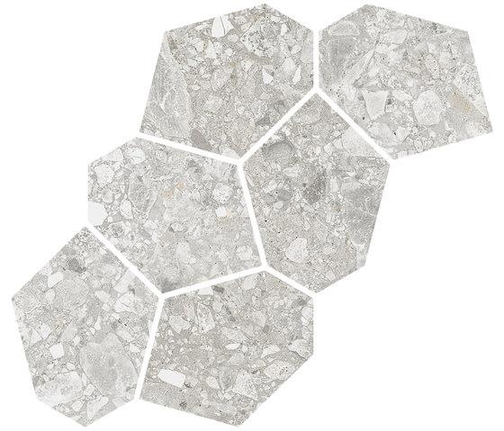 Ceppo di Gre | Mosaico Aymaras Gris von VIVES Cerámica | Keramik Mosaike
